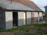2000,08: construction de toilettes (dont 1 pour handicapés)